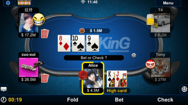 Stack depth poker